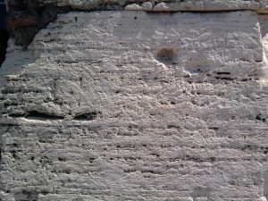 Travertine in the Colosseum