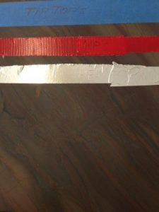 Even tape is capable of etching Quartzite!