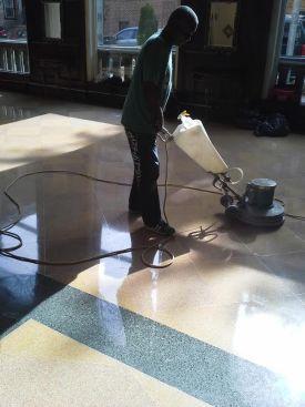 Historic Terrazzo Lobby Floor