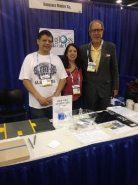Mike, Leslie & Aaron at the Spring Co-Op Trade Show